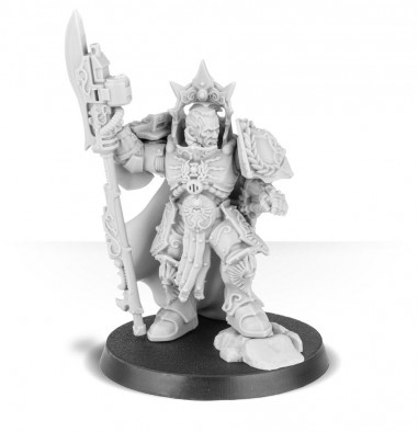 Legio Custodes Shield Captain (Unpainted) - Forge World