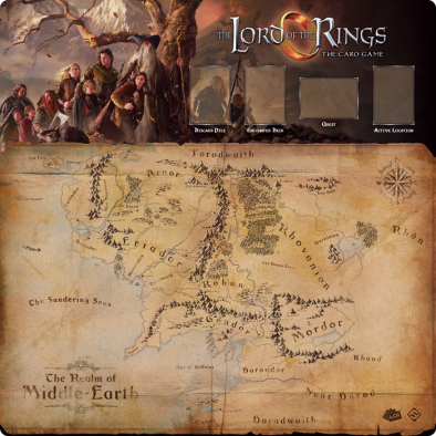 Lord of the Rings LCG Four Player Mat - FFG