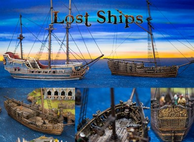 Lost Ships Painted