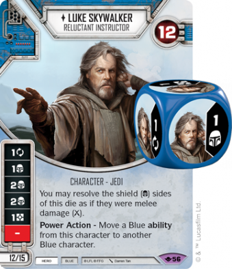Luke Skywalker - Star Wars Destiny