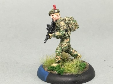 Modern British Soldiers #1 by miniaturebrushwork