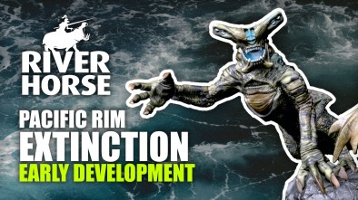 Pacific Rim: Extinction - Early Development Stages With River Horse