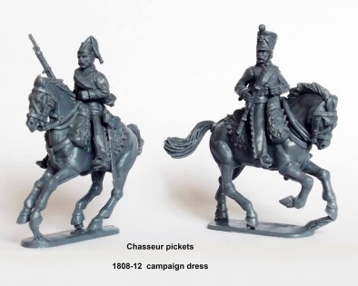 Plastic Line Chasseurs a Cheval #3 - Perry Miniatures
