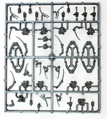 Plastic Line Chasseurs a Cheval (Sprue) - Perry Miniatures
