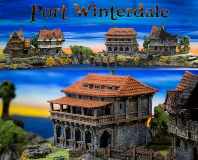 Port Winterdale Painted