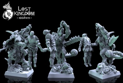 Saurian Preview #3 - Lost Kingdom Miniatures