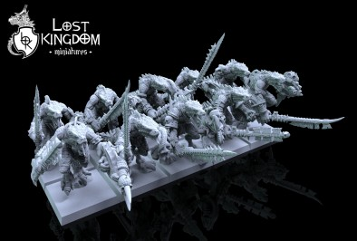 Saurian Preview #4 - Lost Kingdom Miniatures