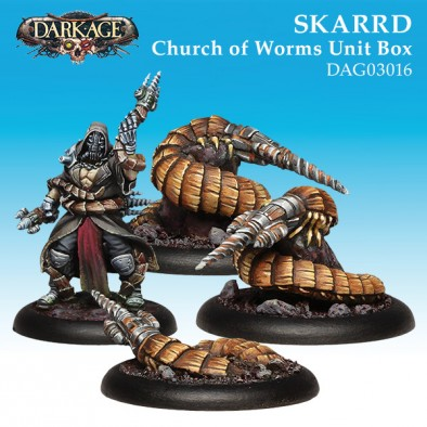 Skarrd Church Of Worms Box - Dark Age