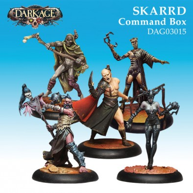 Skarrd Command Box - Dark Age