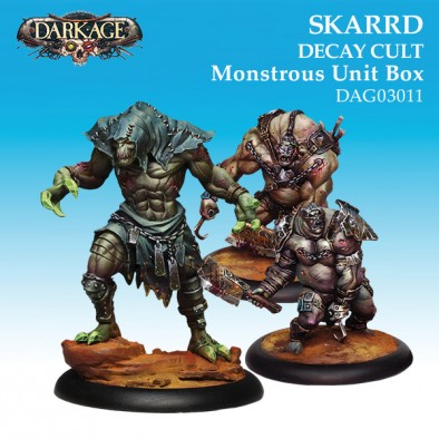Skarrd Decay Cult - Monstrous Unit Box