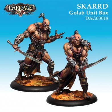 Skarrd Golab Unit Box - Dark Age