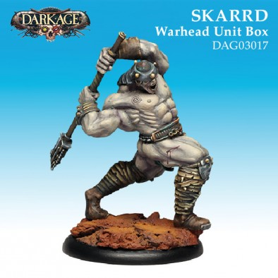Skarrd Warhead Unit Box - Dark Age