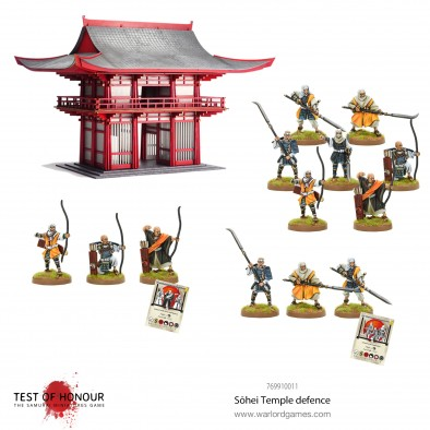 Sohei Temple Defence - Test Of Honour