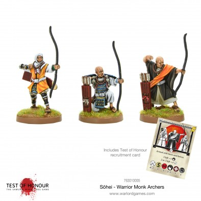 Sohei - Warrior Monk Archers  - Test Of Honour