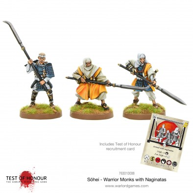 Sohei - Warrior Monks With Naginatas - Test Of Honour