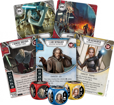 Star Wars Destiny Way Of The Force Fan