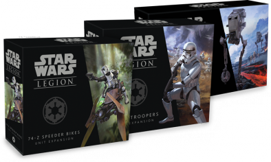 Star Wars Legion Imperial Expansions