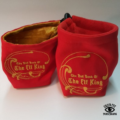 The Elf King Dice Bags