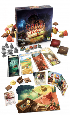 The Grimm Forest Components - Skybound Games