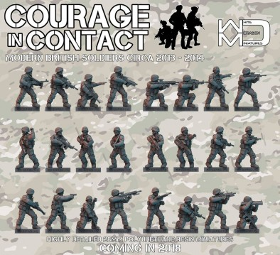 White Dragon Miniatures - Courage In Combat British Soldiers