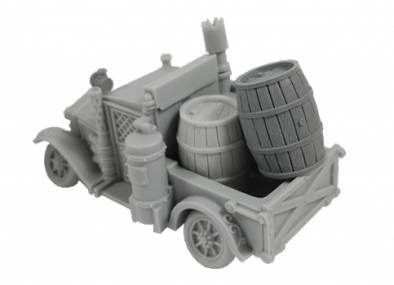 Wolsung Beer Wagon - Micro Art Studio