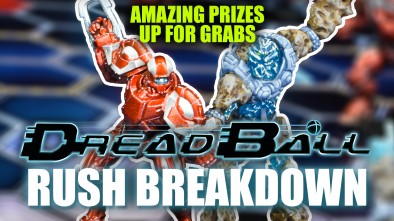 Dreadball 2nd Edition: Rush Breakdown