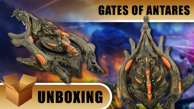Beyond the Gates of Antares Unboxing: Isorian Combat Drone