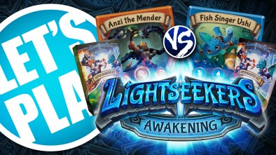 Let's Play: Lightseekers Expanded Starter Decks - Tech vs Storm