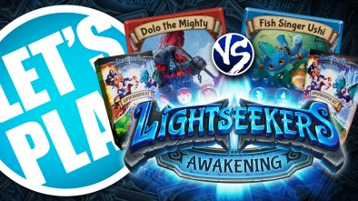 Let's Play: Lightseekers Expanded Starter Decks - Mountain vs Storm