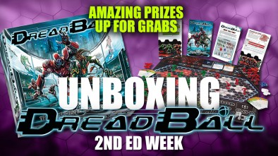 Dreadball Unboxing: 2nd Edition
