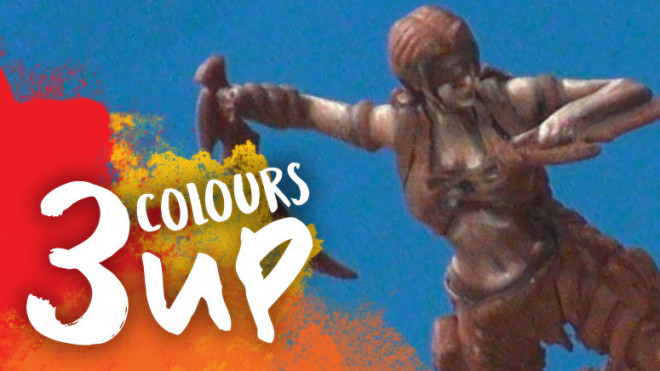3 Colours Up: Painting Native American Skin Tone