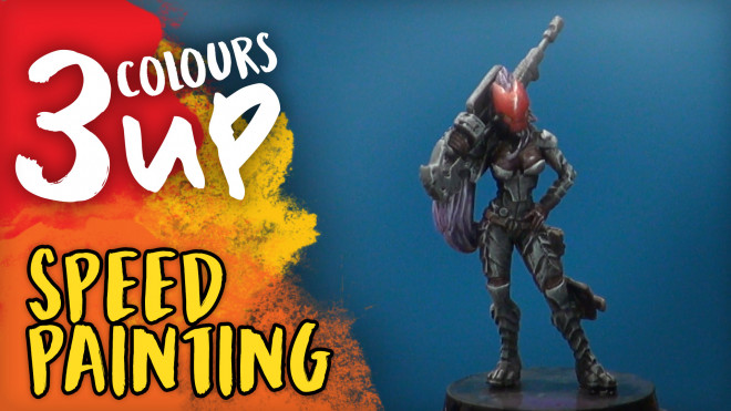 3 Colours Up: Speed Painting Your Miniatures