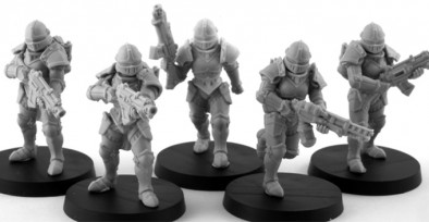 Daughters Of The Burning Rose Infantry - Anvil Industry