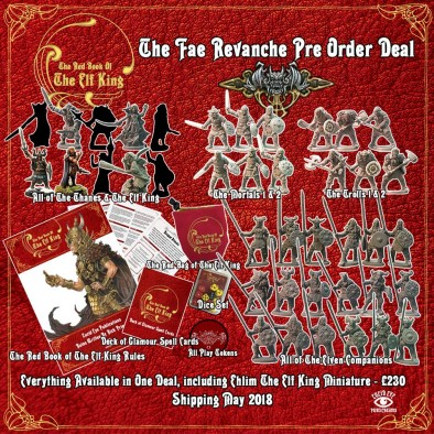 Fae Revanche Pre-Order Deal - The Elf King