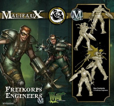 Freikorps Engineers - Malifaux