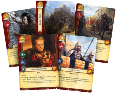 Game Of Thrones LCG Lannister Spread - FFG