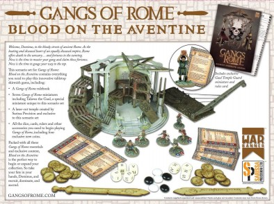 Gangs Of Rome (Rear) - Blood On The Aventine