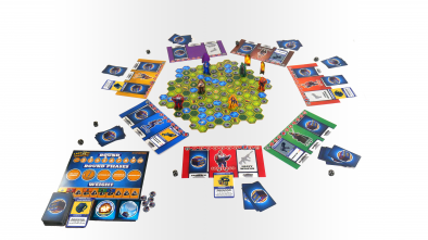Last One Standing #2 - Battle Royale Board Game