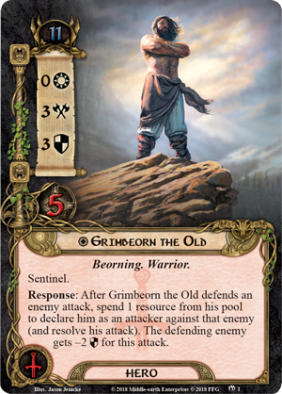 Lord of the Rings LCG Grimbeorn The Old - FFG
