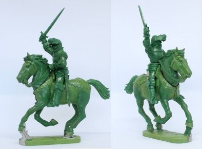 Mounted Agincourt Knights 1415-29 #1 - Perry Miniatures