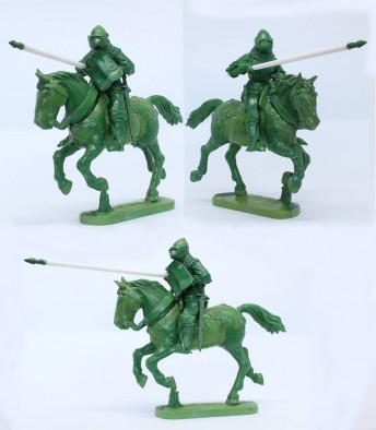 Mounted Agincourt Knights 1415-29 #2 - Perry Miniatures