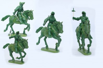 Mounted Agincourt Knights 1415-29 #3 - Perry Miniatures
