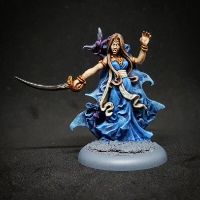 Orelea of The Long Isles by Pyro Painting Studio