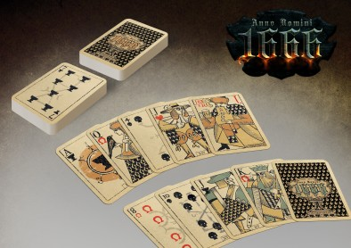 Playing cards - Anno Domini 1666