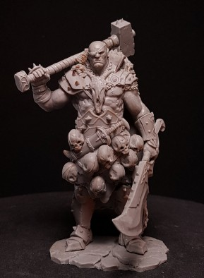 Razgor The Warbringer #1 - Black Sun Miniatures