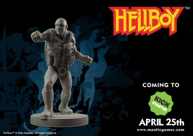 Roger the Homunculus Hellboy Preview - Mantic Games