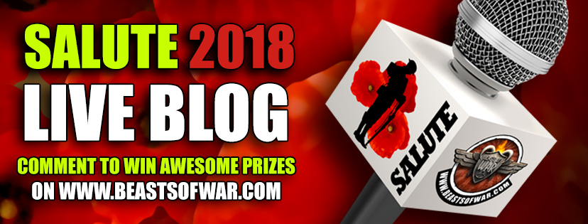 Salute 2018 Live Blog! Comment To Win