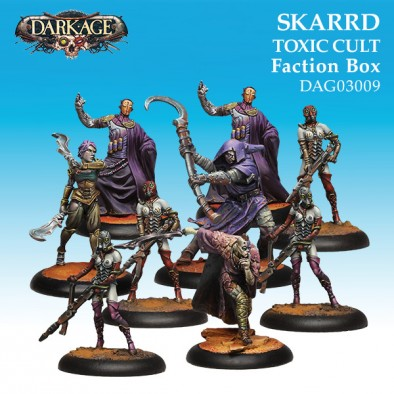 Skarrd Toxic Cult Faction Box - Dark Age