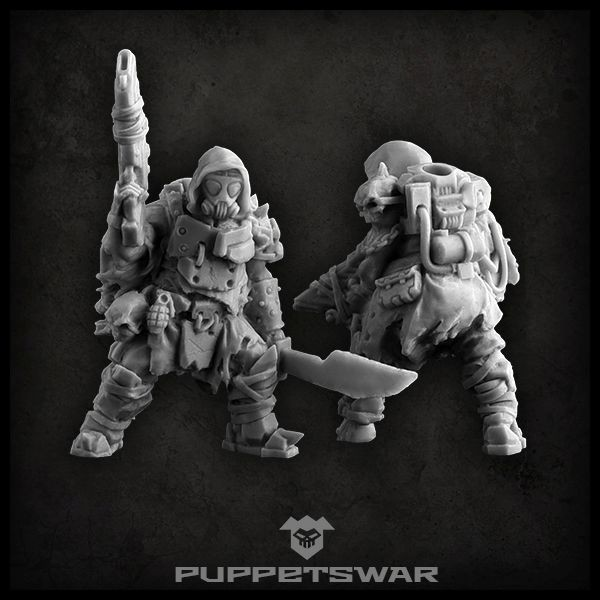 Hunt Through The Ruins Of A Broken World With Puppets Wars Stalkers