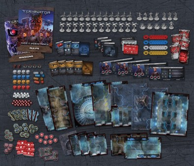 Terminator Genisys: Rise Of The Resistance Components